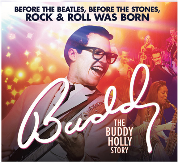 Banner for The Buddy Holly Story event