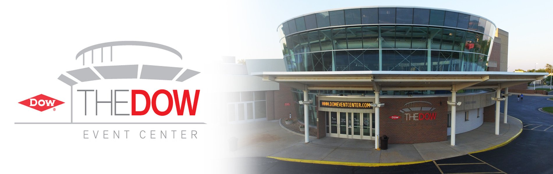 The Dow Event Center Banner